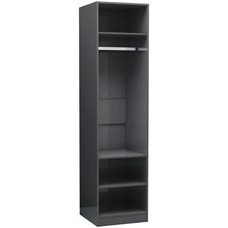 "main image of ""vidaXL Wardrobe Living Room Bedroom Clothing Storage Cabinet Organiser Hanger Shelf Cupboard Chipboard 100x50x200cm/50x50x200cm Multi Colours"""