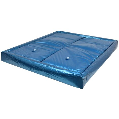 vidaXL Waterbed Mattress Set with Liner and Divider Super King Bedroom Home Dual Mattress Protective Cover Sleeper 180/200/220 cm F3/F5