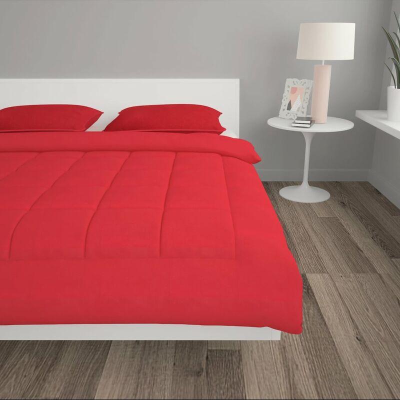 Stoff Bedruckt 240x220//60x70cm Bettenset vidaXL Winter Bettdecken Set 3-tlg