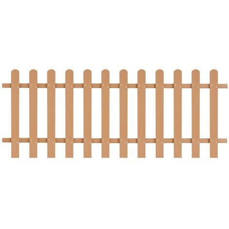 Picket Fence WPC 200x80 cm
