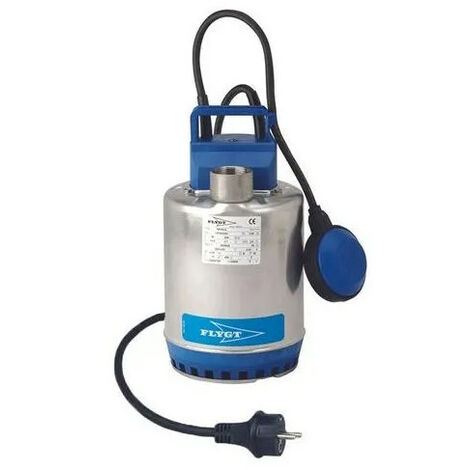 Vide cave eaux peu chargées STEELINOX avec flotteur SXM2
