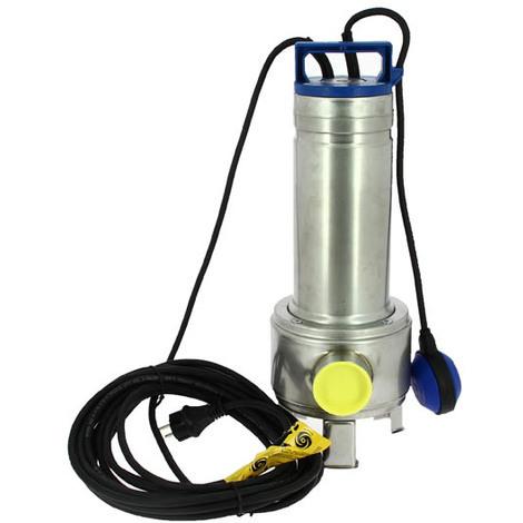 Pompe de relevage eaux usées DELINOX avec flotteur DXVM 35-5