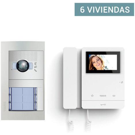 """main image of """"Video Portero COLOR para 6 viviendas 2 hilos Sfera Ne6"""""""