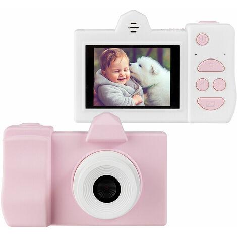 Videocámara para Niños Mini Cámara Digital Pantalla HD 18MP Tarjeta de Memoria 16GB Zoom Digital 8X