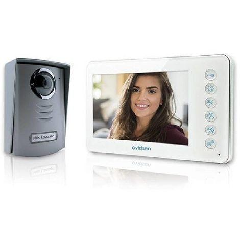 VIDEOCITOFONO 2 FILS 7'' COLORS, MONITOR WHITE COLOR 112240