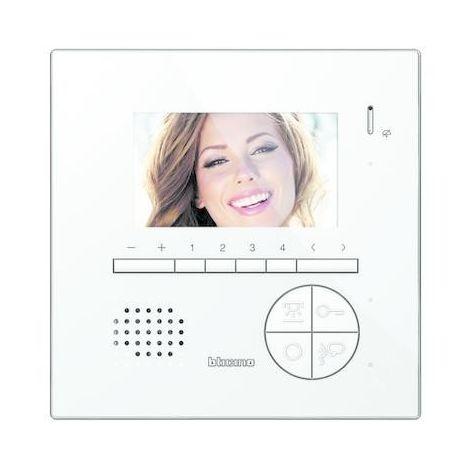Videocitofono Bticino 2-cable de manos libres con pantalla LCD a color de 4.3 344522