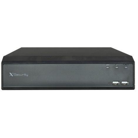 Videograbador de 16 canales + 64 IP acepta todo tipo de cámaras.