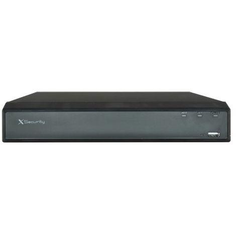 Videograbador de 16 canales + 8 IP acepta todo tipo de cámaras.