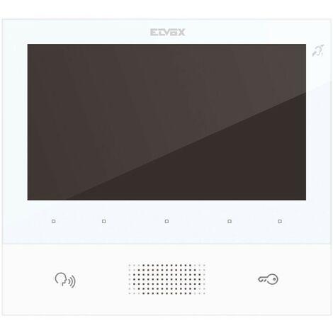 Videointerfono Vimar Elvox TAB 7 de 2 hilos con altavoz blanco 40505