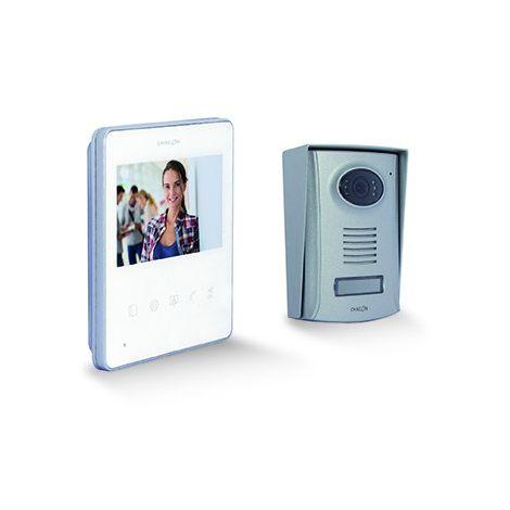 """Vidéophone avec écran 4,3"""" ultra slim - Blanc"""