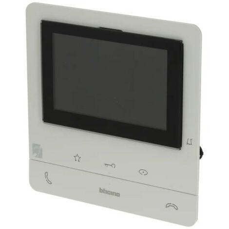 Vidéophone mains libres Bticino Classe 100V16E 2 Fils 344672