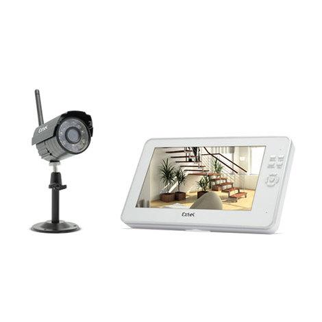 Vidéosurveillance numérique sans fil 200 m - O PLUS - Kit seul (1 écran + 1 caméra)