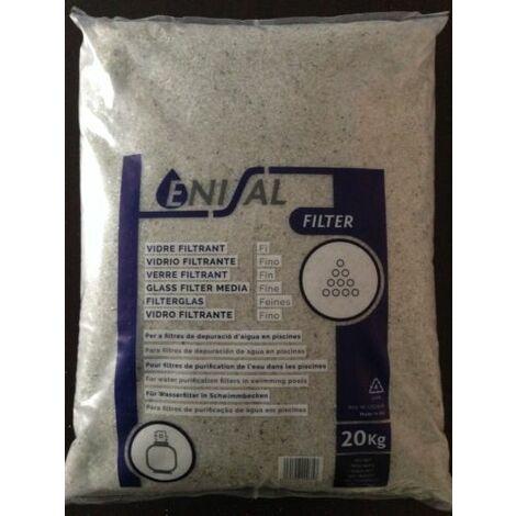 Vidrio Filtrante Fino (saco-20kg)