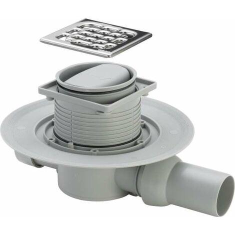 Duschablauf Badablauf Bodenablauf DN 50 in Edelstahl senkrecht oder waagrecht