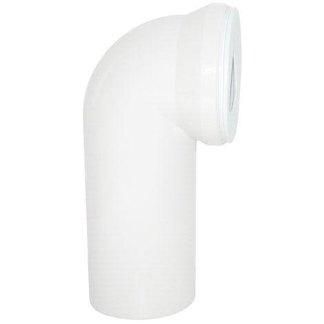Viega WC Anschlussbogen DN 100 x 230mm 90° Kunststoff weiß