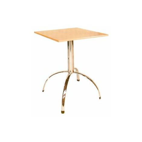 Vienza Quality Compact Square Natural Kitchen Dining Table