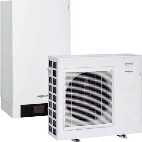 Viessmann Vitocal 250-S, Luft/Wasser-Wärmepumpe für Hybridbetrieb