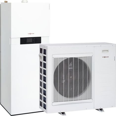 Viessmann Vitocaldens 222-F, Vitotronic 200, Gas-Hybridgerät mit Kühlfunktion