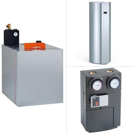 Viessmann Vitoladens 300-C, Öl-Brennwertkessel, Vitotronic 200, 2-stufig, Vitocal 262-A