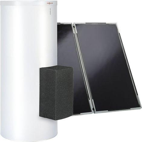 Viessmann Vitosol 141-FM, Warmwasser-Kollektorpaket, Vitocell 100-B/W, Solarmodul