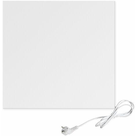 Viesta H300 panneau de chauffage infrarouge Crystal Carbon (dernière technologie) panneau radiateur ultra mince chauffage mural blanc - 300 Watt