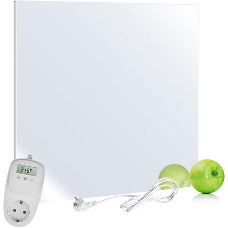 VIESTA H320-SP Espejo calefactor infrarrojo 320 Watt + VIESTA TH10 Termostato