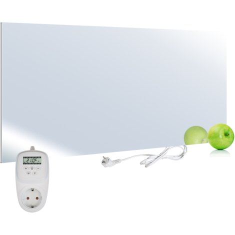 Viesta H580-SP Chauffage infrarouge 580 watts, miroir + thermostat VIESTA TH12