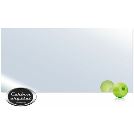 VIESTA H700-SP Chauffage infrarouge 700 watts, miroir + thermostat VIESTA TH15