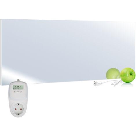 Viesta H700-SP Espejo calefactor infrarrojo 700 Watt + termostato VIESTA TH10