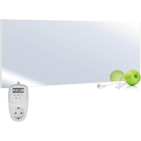 Viesta H700-SP Espejo calefactor infrarrojo 700 Watt + termostato VIESTA TH12