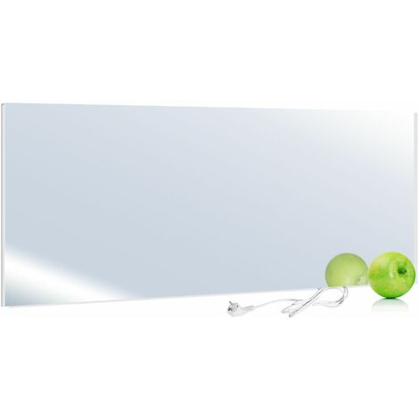 VIESTA H700-SP Infrarotheizung 700 Watt, Spiegel + Thermostat VIESTA TH12