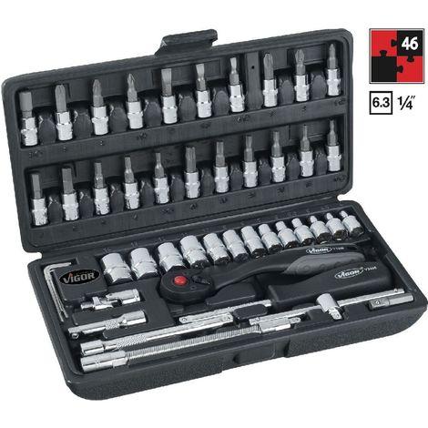 Steckschlüsselsatz 29tlg ½ Zoll Knarrenkasten Ratschenkasten Michelin Werkzeug