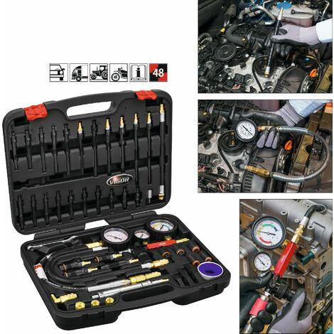 Vigor Jeu de testeurs de perte de compression et de pression - V4461