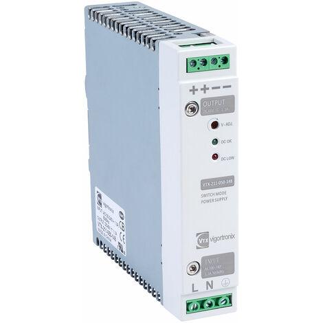 Vigortronix VTX-211-050-148 50W DIN Rail Power Supply 90-264V AC - 48V DC