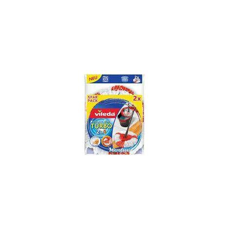 Vileda Turbo 2in1 EasyWring & Clean Ersatzkopf 2er 152545 S709421