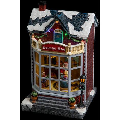 Village de Noël Maison - Fééric Christmas - Multicolore