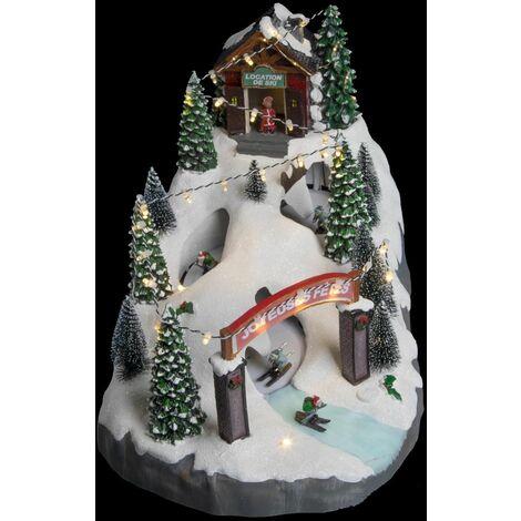 Village de Noël Ski à la Montagne - Fééric Christmas - Piste de ski