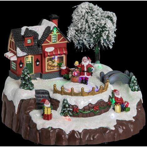 Village de Noël Vitrine - Fééric Christmas - Multicolore