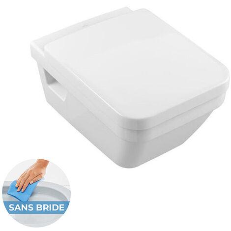 Villeroy & Boch Architectura Cuvette de WC suspendu à fond creux DirectFlush (5685FR01)