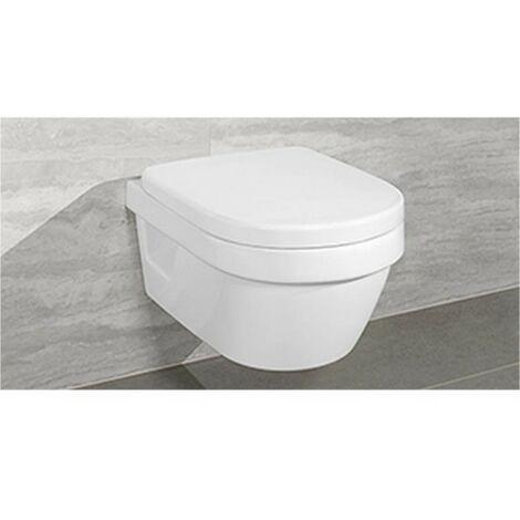 Fabulous Villeroy & Boch Architectura Wandtiefspül-WC rund wasserrandlos GO23
