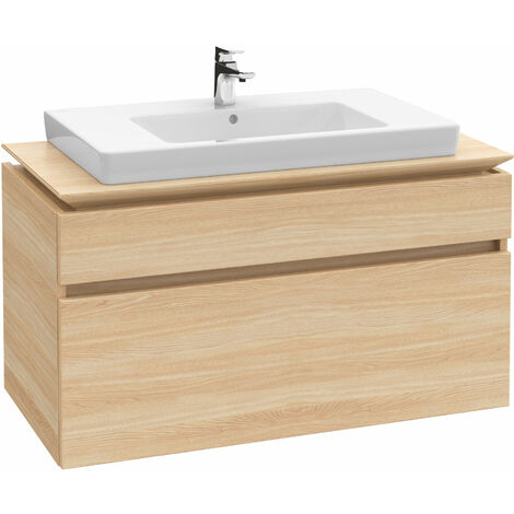 Villeroy & Boch cupboard washbasin Subway 71758G 800x470mm, with overflow, 1 tap hole, colour: White - 71758G01