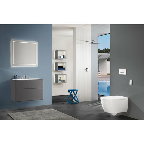Villeroy & Boch Finion mirror F62060, 600 x 1000 x 20 mm, without LED lighting, facet cut - F6206000