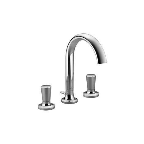 Villeroy & Boch LA FLEUR Mezclador de lavabo de tres agujeros, cromado - 20710955-00