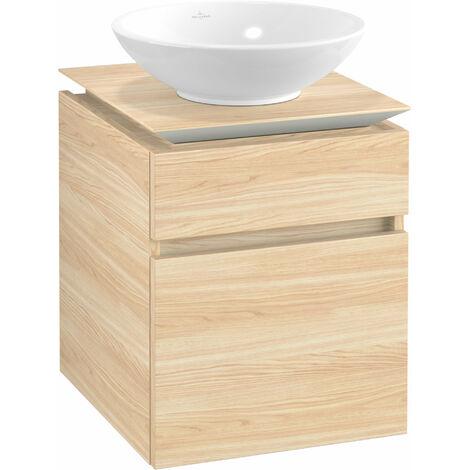Villeroy & Boch Legato Vanity unit B120, 450x550x500mm, washbasin centric, colour: Elm Impresso - B12000PN