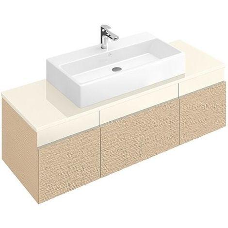 Villeroy & Boch MEMENTO Waschtischunterschrank 1406 x 425 x 535 mm weiß matt