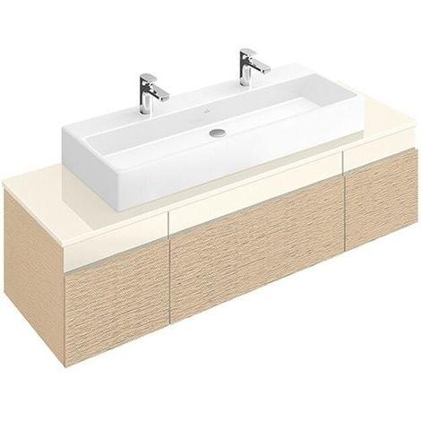 Villeroy & Boch MEMENTO Waschtischunterschrank 1706 x 425 x 535 mm weiß matt