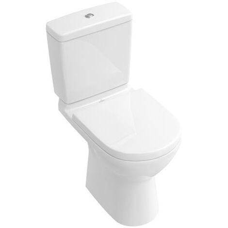 Villeroy & Boch O.NOVO Stand-WC tief, 360 x 670 mm, spülrandlos,  DirectFlush weiß