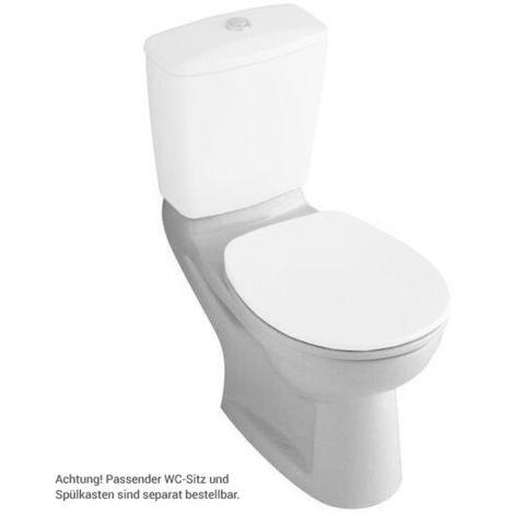 Villeroy & Boch O.NOVO Stand-WC tief, für Kombination Abgang ...