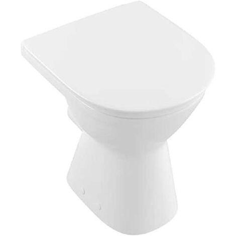 Villeroy & Boch O.Novo Stand-WC Vita Tiefspüler erhöht 46cm Standtiefspüler Klo weiß