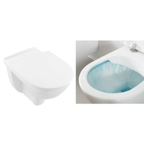 Villeroy & Boch O.Novo Vita Wand WC erhöhter Sitz Tiefspüler directflush